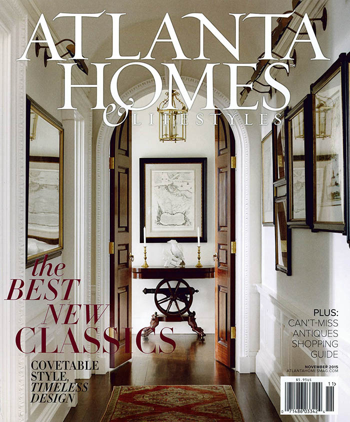 Atlanta Homes & Lifestyles Cover.The Water Tower Stacks.151108
