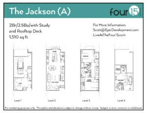 The Jackson Floor Plan