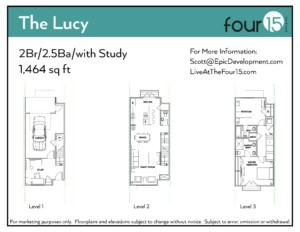 The Lucy Floor Plan